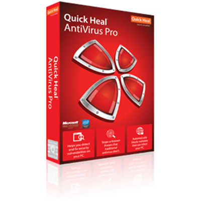 Quick Heal Antivirus Pro - 3 User - 1 Year